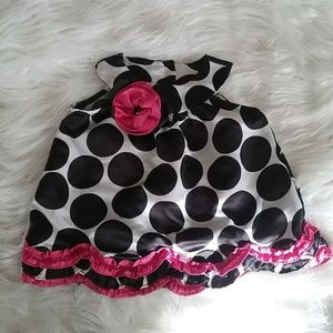 💛Rare Editions Polka Dot Pink Toddler Blouse!